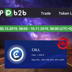 P2PB2B Exchange to host IEO for World's First ERC777 Token – CALL