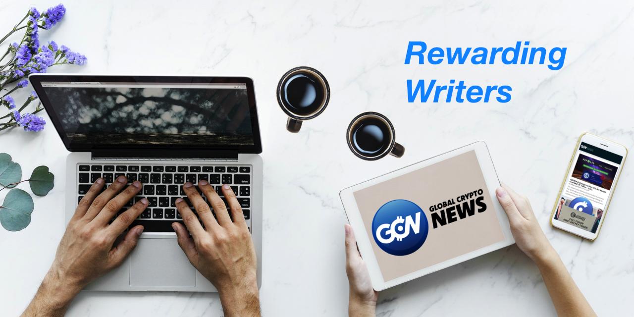 Global Crypto News (GCNews.io): Unmatched Rewards for Writers