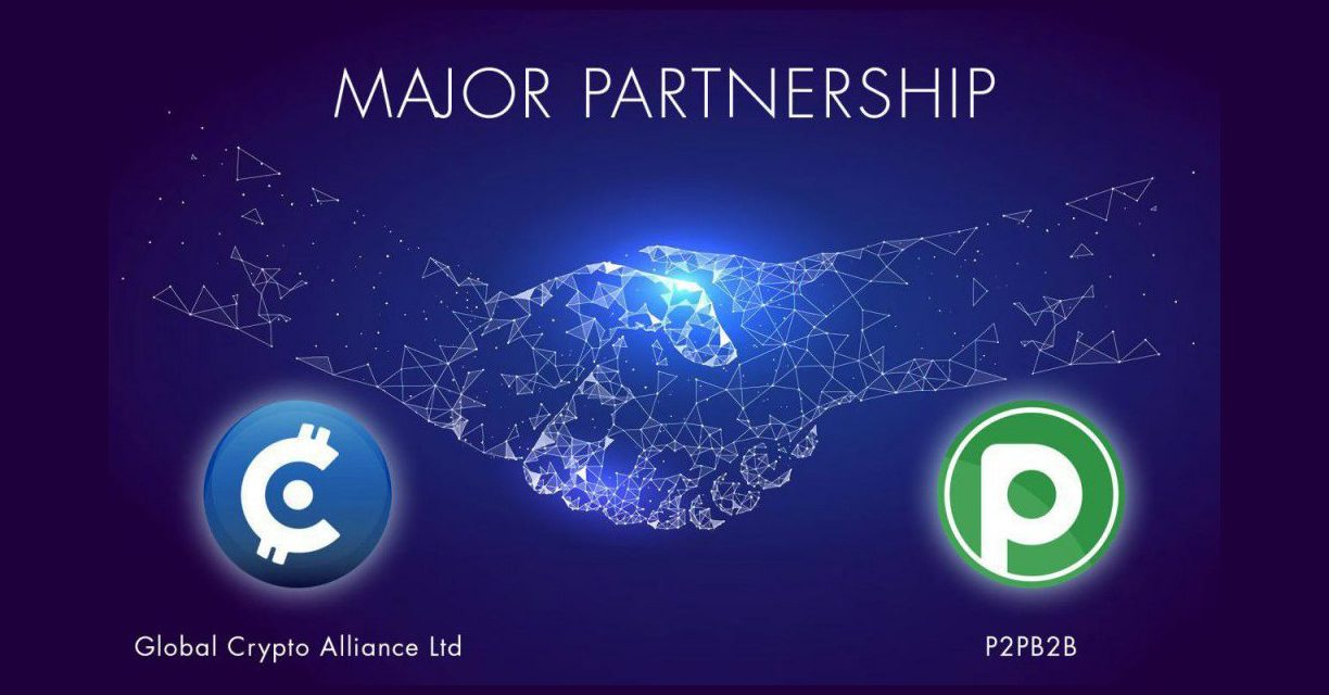 P2PB2B partners with Global Crypto Alliance for project diligence
