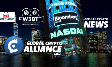 Global Crypto Alliance films on NASDAQ NYC 2020