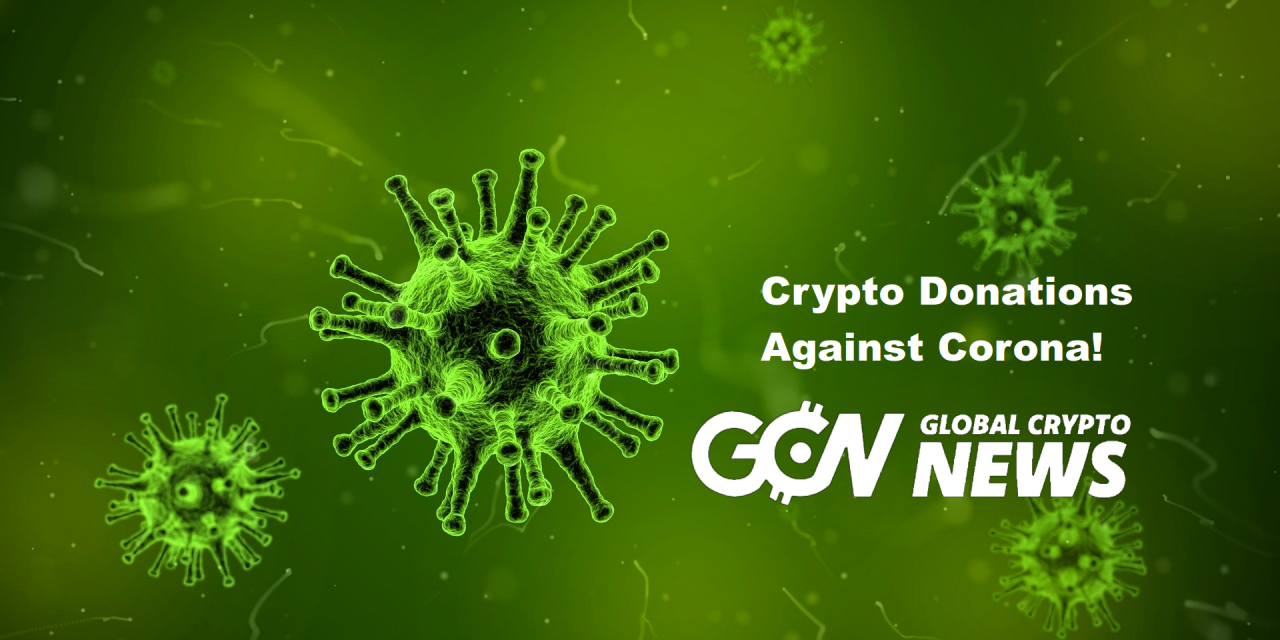 Corona Virus Outbreak: Cryptocurrency and Blockchain Institutions Donating Items and Money