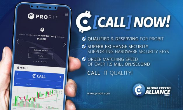 CALL Token Listed on ProBit Exchange